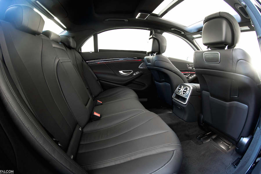 Back Seats of the New Mercedes S Class