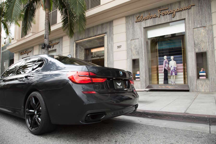 Rent BMW 740i Los Angeles