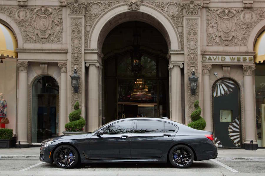 BMW 7 Series in Beverly Wilshire