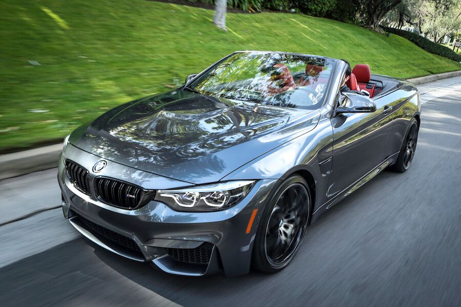 BMW M4 Convertible Competition Package