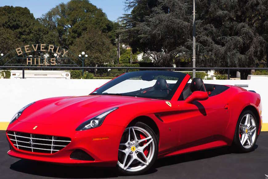 Ferrari California Rental Los Angeles