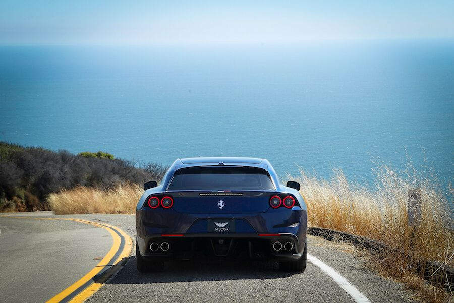 Ferrari GTC4Lusso on the PCH