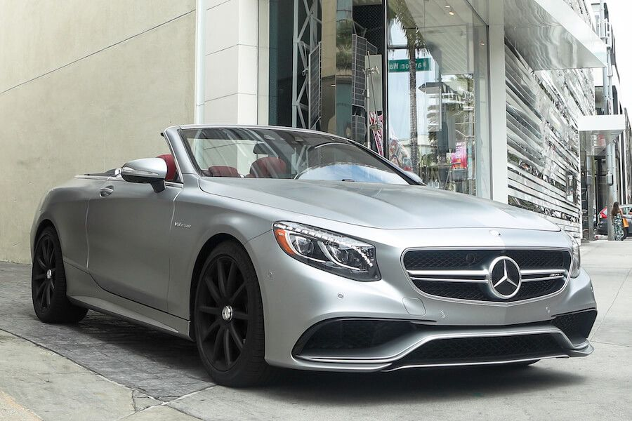 rent Mercedes AMG S63 Cabriolet Los Angeles