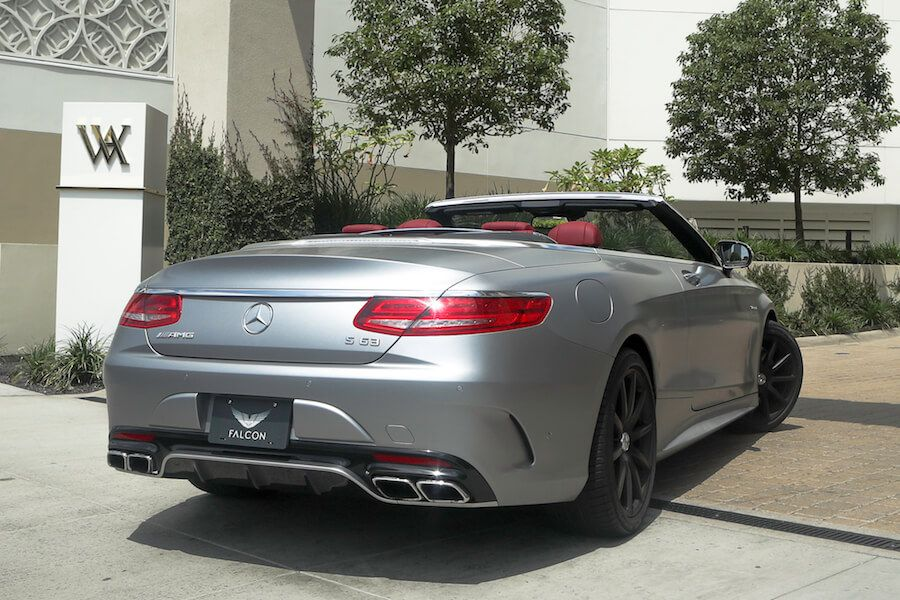 Mercedes AMG S63 Cabriolet Beverly Hills