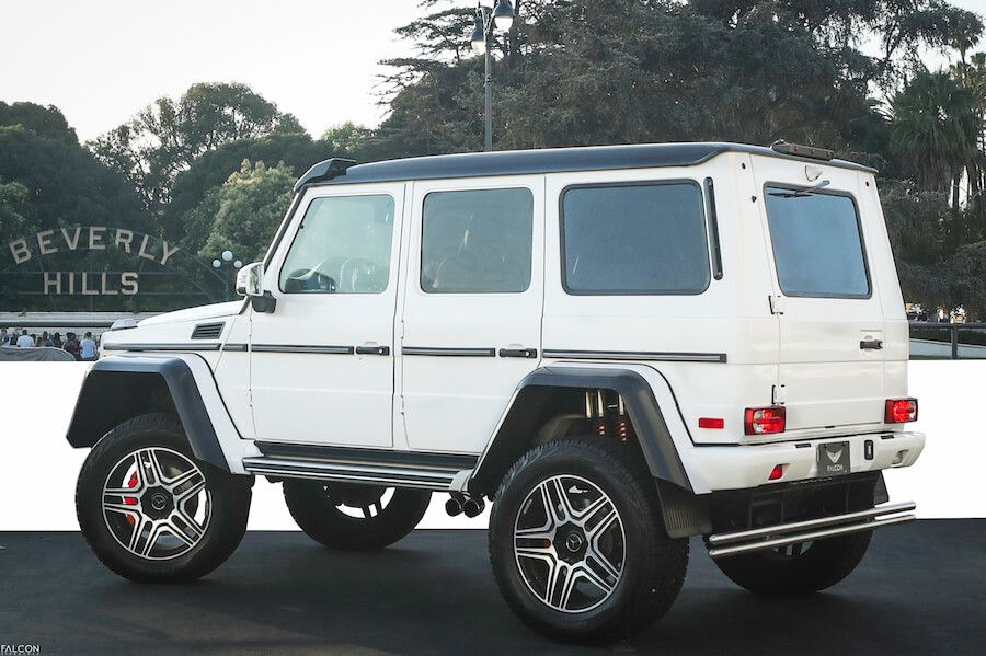 lifted g wagon for rent