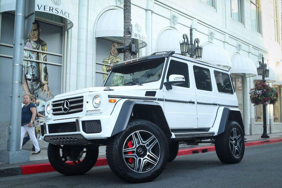 g wagon 4x4 for rent