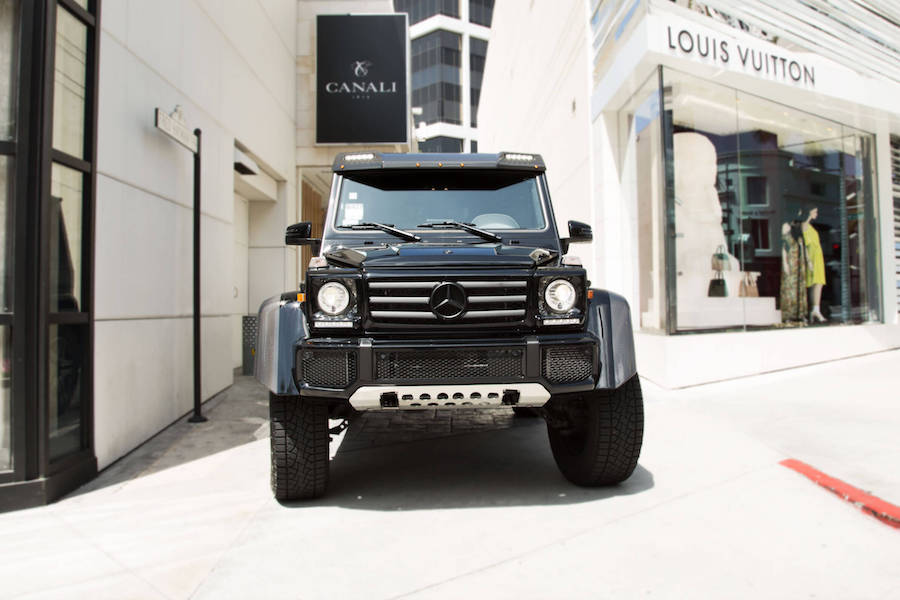 G Wagon 4x4 for rent Los Angeles