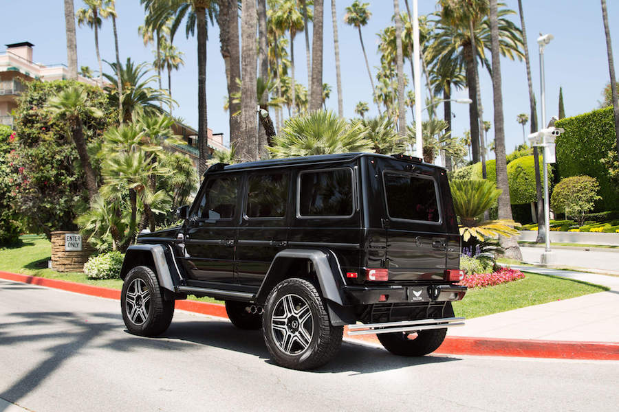 Mercedes G Class 4x4 for rent Los Angeles
