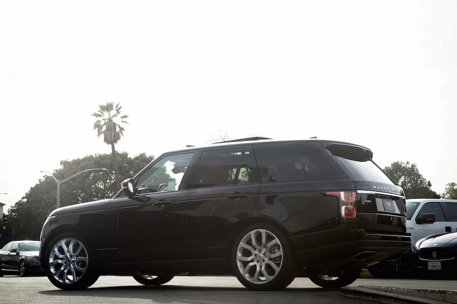 Los Angeles Range Rover Rental