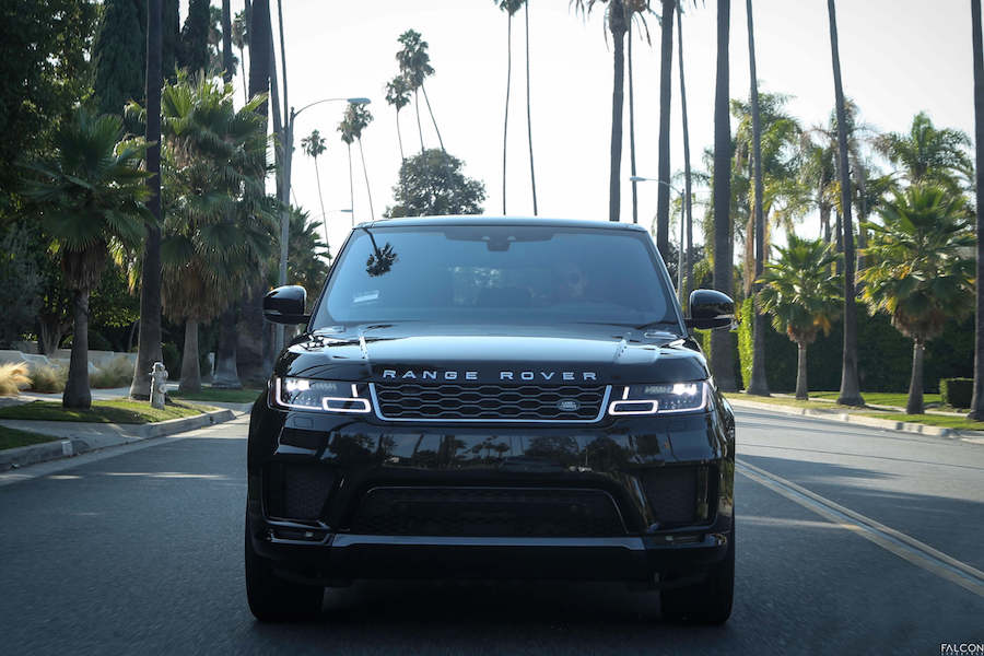 Range Rover Sport rental los angeles