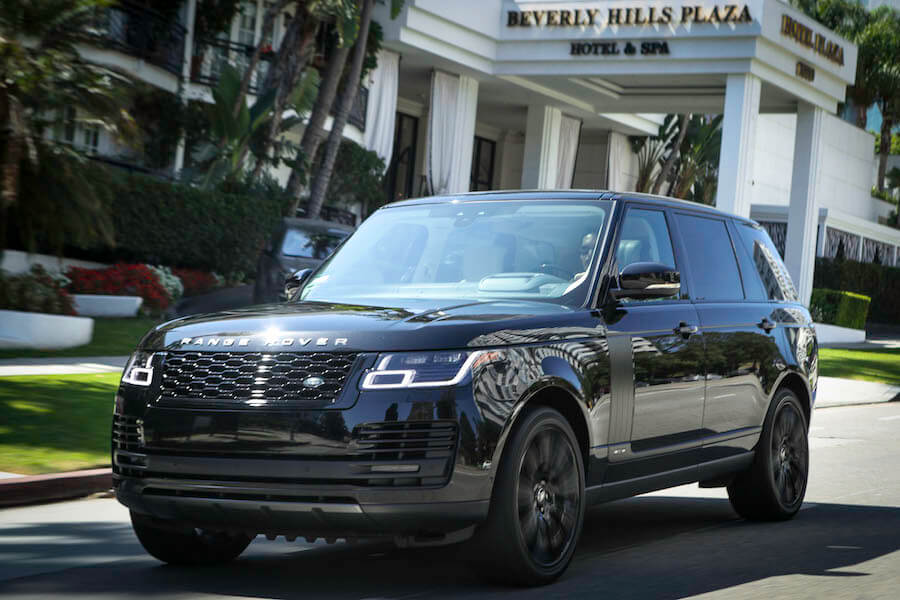 Range Rover Supercharged Beverly Hills