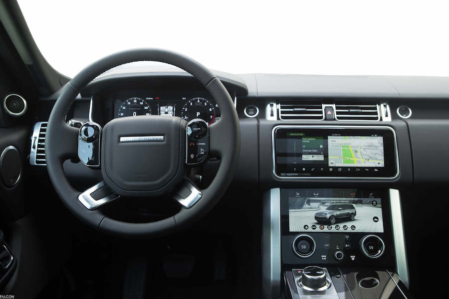 Interior Of 2018 Range Rover