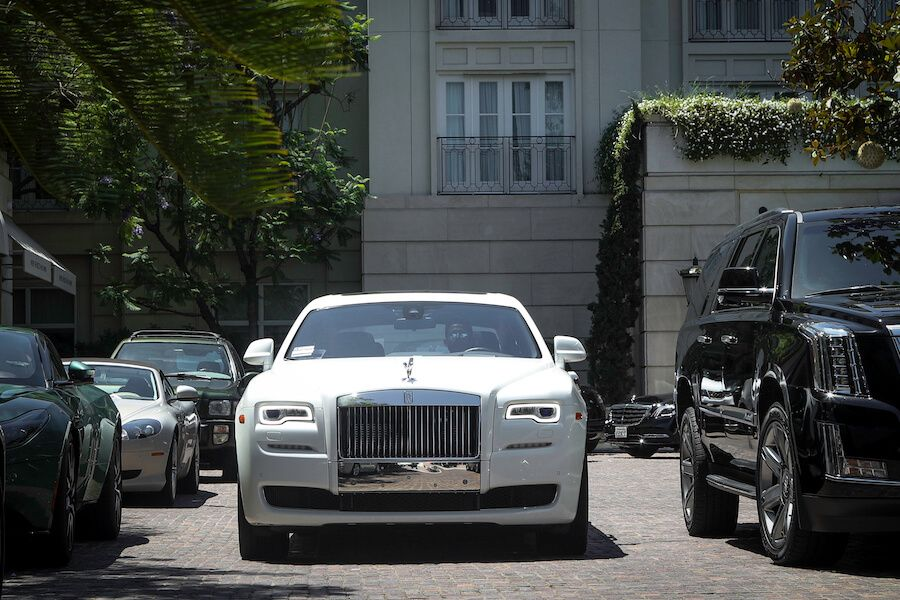 rent rolls royce ghost LA