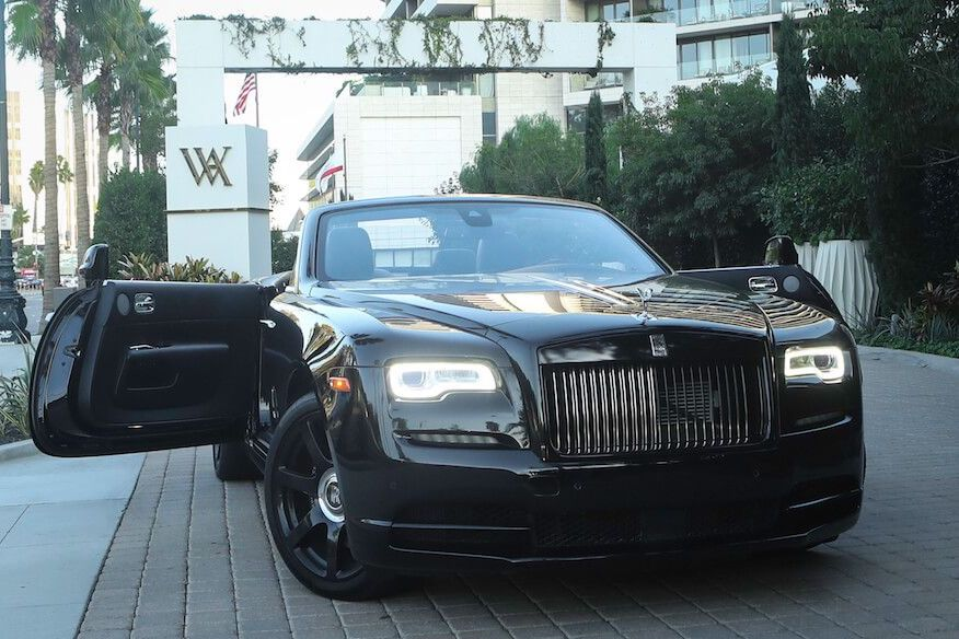 Rolls Royce Dawn Beverly Hills